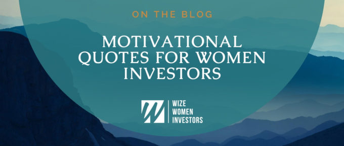 Blog Title Image for Motivational Quotes for Women on Mountain Background